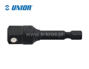 "Adapter do nasadek 1/4""-1/2""x50mm Unior"